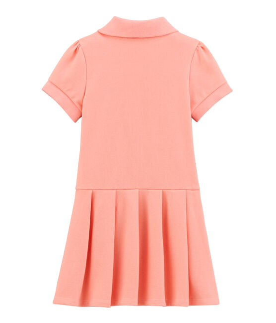 Robe enfant fille rose Rosako