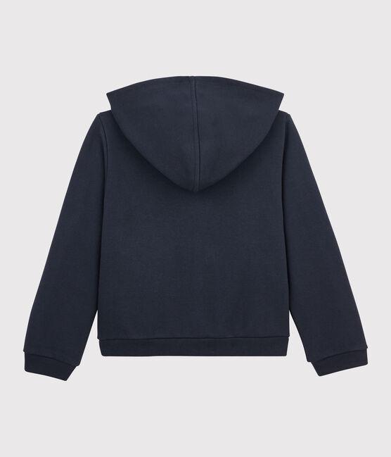 Sweatshirt à capuche enfant fille SMOKING