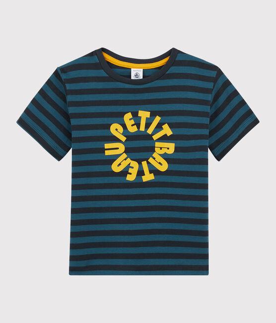 Tee-shirt rayé enfant garçon SMOKING/SHADOW