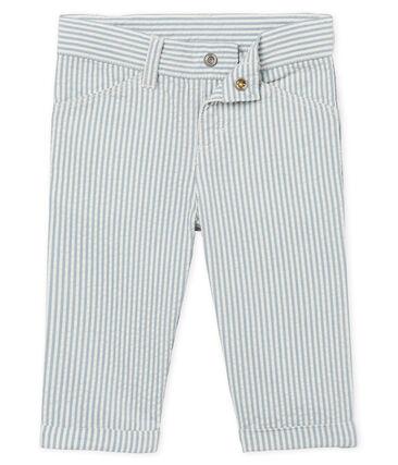 Pantalon bébé garçon rayé