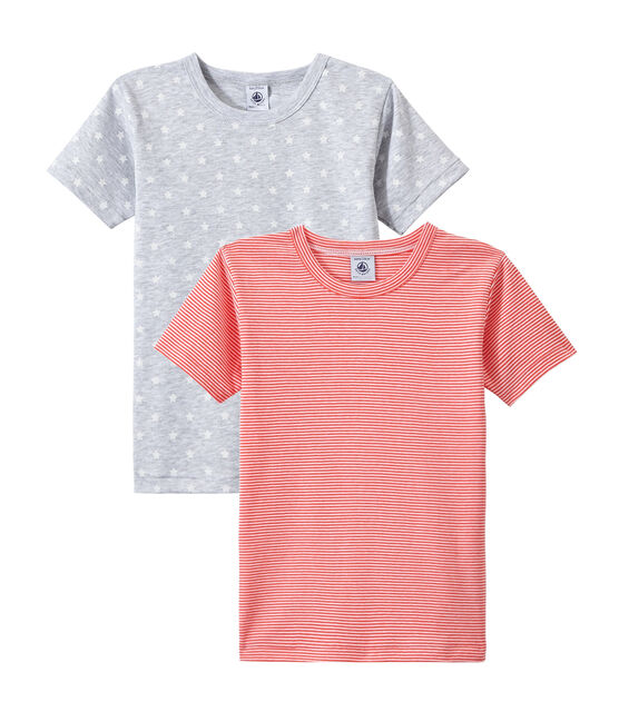 Lot de 2 t-shirts garçon manches courtes lot .
