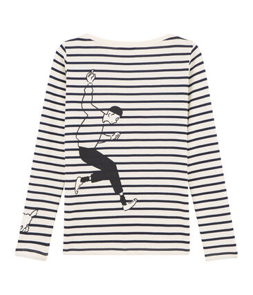 Tee shirt marinière femme