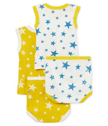Duo de bodies-culottes 2 en 1 bébé garçon