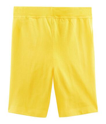 Bermuda enfant garçon jaune Shine