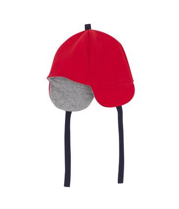 Bonnet bébé garçon rouge Terkuit