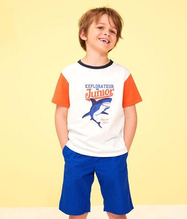 Bermuda enfant garçon bleu Surf