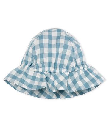 Chapeau bébé mixte bleu Fontaine / blanc Marshmallow