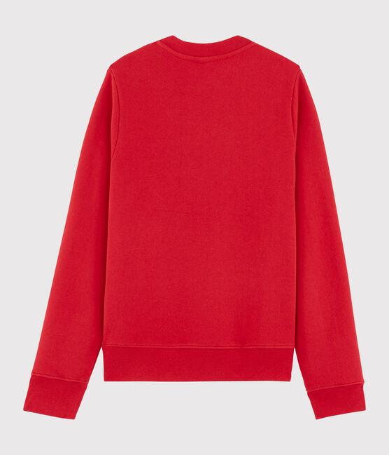 Sweatshirt Femme / Homme en molleton rouge Terkuit