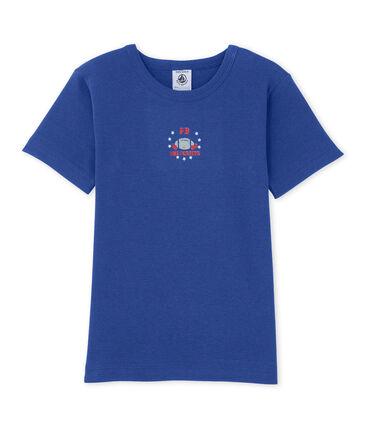 T-shirt garçon à motif