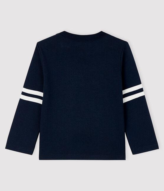 Tee-shirt bébé garçon bleu Smoking