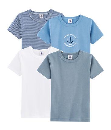 Pochon surprise de 4 Tee-shirts manches courtes garçon