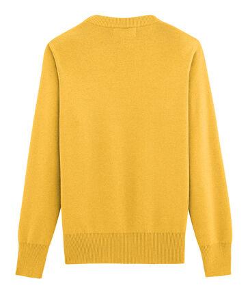 Pull Femme jaune Boudor / jaune Or
