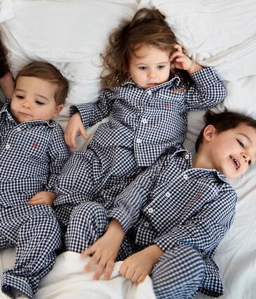 Pyjama garçon à carreaux