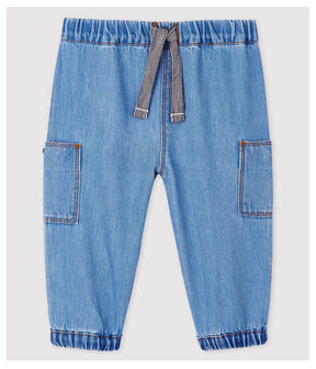 Pantalon en denim clair bébé garçon bleu Denim clair