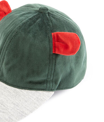 Casquette enfant fille vert Sousbois