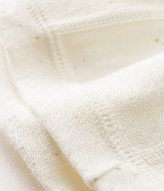Bonnet naissance bébé mixte blanc Marshmallow / blanc Multico
