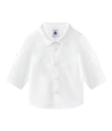 Chemise bébé garçon manches retroussables