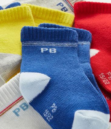 Lot de 5 paires de chaussettes bébé garçon lot .