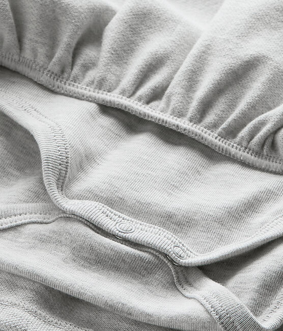Robe bébé fille gris Beluga Chine
