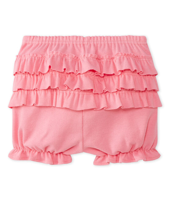 Culotte bloomer bébé fille rose Petal