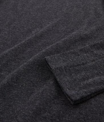 Sous-pull femme en coton léger gris City Chine