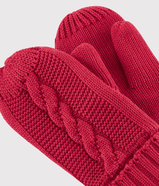 Moufles enfant fille/garçon rouge Terkuit