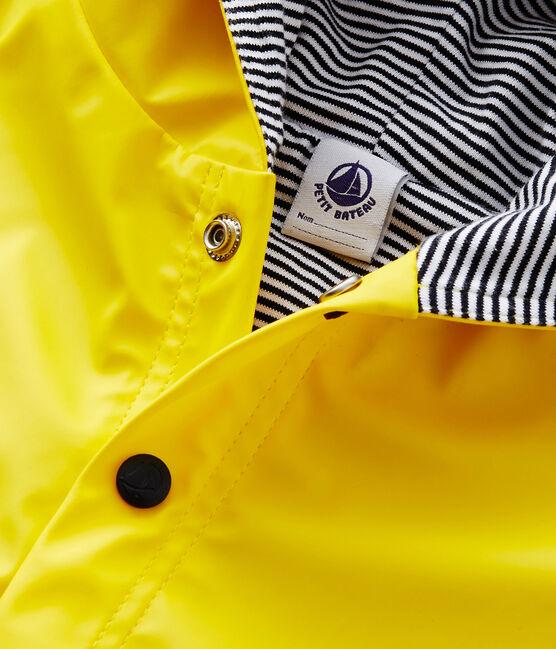 Cape de pluie unie bébé jaune Jaune