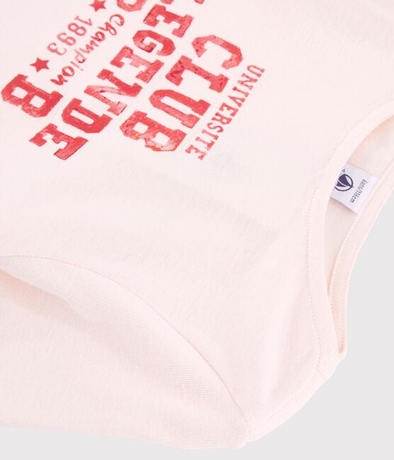 Tee-shirt sérigraphié enfant fille FLEUR