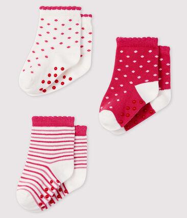 Lot de 3 paires de chaussettes bébé