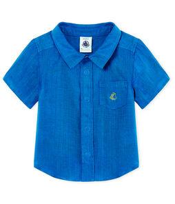 Chemise manches courtes bébé garçon en lin