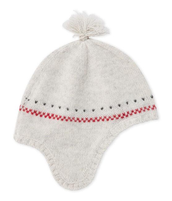 Bonnet péruvien bébé mixte en laine mélangée gris Montelimar Chine
