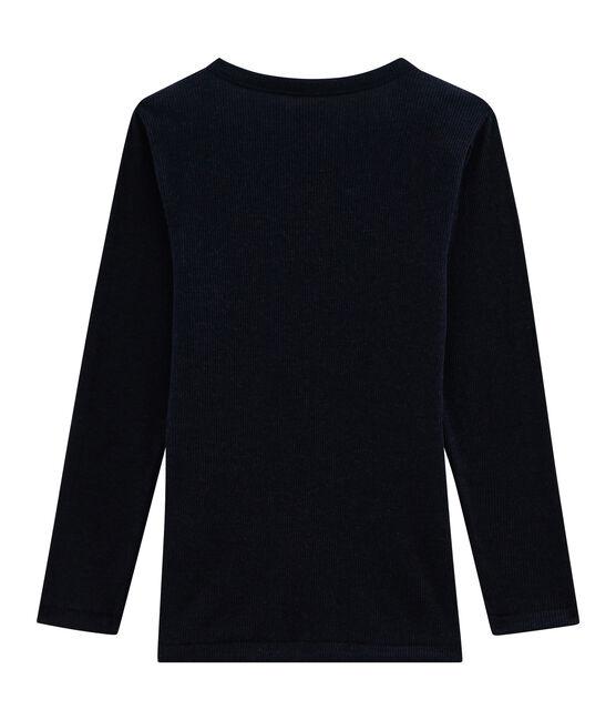 Tee-shirt manches longues enfant en coton laine soie SMOKING