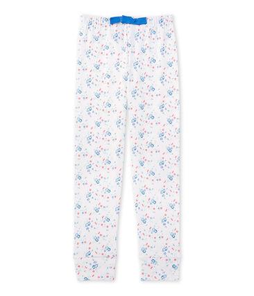Bas de pyjama fille imprimé à coordonner