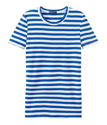 T-shirt femme en côte originale rayée