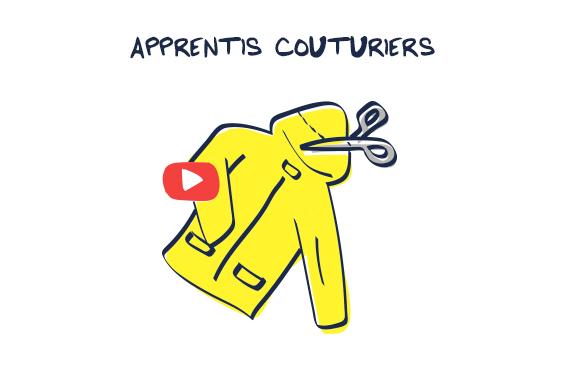 Video Seconde Vie Apprentis couturier Petit Bateau