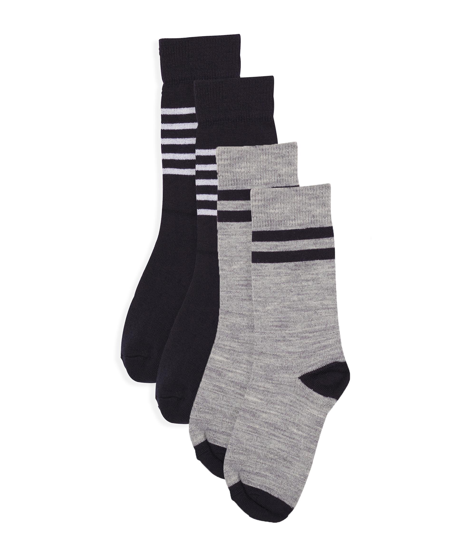 Kakoop Lot de 5 paires de chaussettes chaudes pour enfants de 0 /à 6 ans