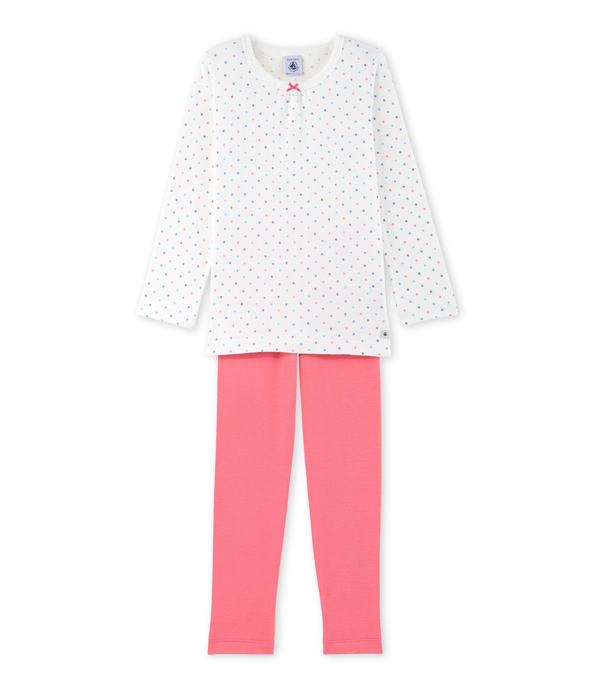 10c6d83d9eea9 Pyjama fille à pois